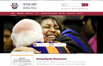 Texas A&M University - Central Texas Giving